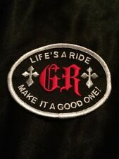 """Good Ride Patch """"Lifes A Ride Make It A Good One"""" horse/bull show riding"""