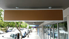 Lightboxes,Under Awning Light Box 1800x350x150mm, 2 row= 4 lights, WHT