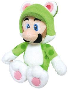Super Mario 3D Warriors Of The World Nintendo Luigi Cat Versión Plush 25 Cm.