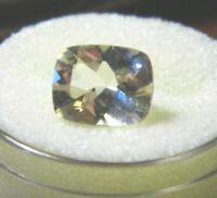 Yellow Labradorite Cushion 10x8x5mm 2.45cts. Minimum Natural Gemstone Beautiful!