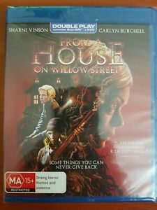 FROM A HOUSE ON WILLOW STREET BLU RAY & DVD-NEW & SEALED SHARNI VINSON FREE POST