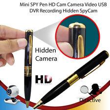 New Mini SPY Pen HD Cam Hidden Audio Camera Video USB DVR Recording Nanny 8 GB