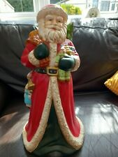 More details for vintage santa claus/father christmas very large ornament. ideal collectors item.