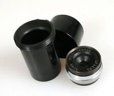 BAUSCH AND LOMB 32MM F4.5 MICRO TESSAR LENS, 20mm SCREW MOUNT IN CASE