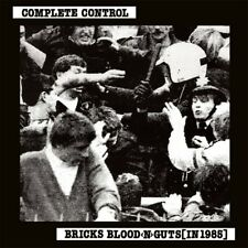 Complete Control – Bricks Blood Guts [In 1985] LP (lim.edition)