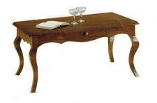 Tavolino rettangolare arte povera soggiorno salotto legno pioppo massello , sala