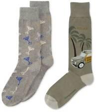 NWT Tommy Bahama Men/'s Mid Blue Legendary Lures Dress Socks FINAL SALE