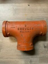 Gruvlok 7060 3 Ductile Iron Tee Pipe Fitting Grooved Plumbing 1000 Psi Usa