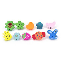 50xMulti-Coloured Cartoon Assorted Push Pins Drawing Cork Board Office Supply、DD