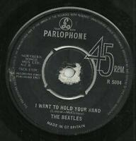 THE BEATLES - I WANT TO HOLD YOUR HAND / THIS BOY - PARLOPHONE 1963 - 60s MERSEY