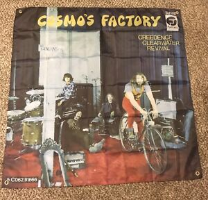creedence clearwater revival Flags 4'x4'