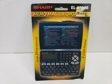 Sharp Electronic Memo Master Organizer EL6800B Brand New in Package