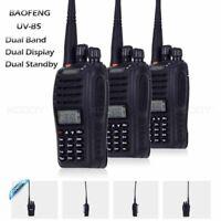 3pcs BAOFENG UV-B5 Dual Band Walkie Talkie Ham Two Way FM Radio 5W/1W 99CH VOX