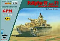 Pz.Kpfw IV Ausf. F1 Afrikakorps  1/16 scale model kit (prepainted)