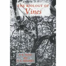 The Biology Vines Hardcover Cambridge University Press 9780521392501 Cond=LN:NSD