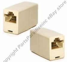 RJ45 Female~F Jack Coupler/Joiner Ethernet Network for Cat5/e cable/cord/wire