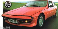MATRA MURENA SPEC SHEET/Brochure/Pamphlet/Catalog:1983,1982,1981,1980.......S