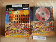 ELDORADODUJEU >>> BIG BOX AGE OF EMPIRE THE RISE OF ROME EXPENSION PC Français
