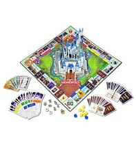 Disney Parks Monopoly Theme Park Edition III with Pop-Up Castle Board Game - New