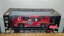 1/18 SUN STAR BRICKYARD 400 OFFICIAL PACE CAR 2000 MONTE CARLO SS RED rd