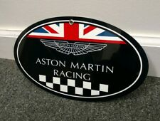 Aston Martin Racing oval sign