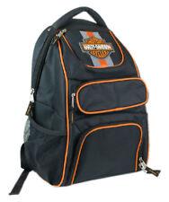 Harley-Davidson Compact Bar & Shield Reflective Backpack, 12 x 17 Black 7180541
