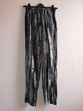 Vintage Aztec print pants B&W trousers sourced by Urban Renewal Size Medium