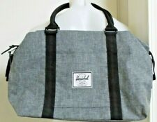 Herschel Supply Co Strand Raven Crosshatch new without tag with a bent snap