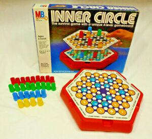 Vintage Inner Circle Game - COMPLETE - 1981 - Milton Bradley - EUC