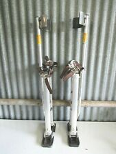 "Dura-Stilts 24""-40"" Drywall Sheetrock Painting Insulation Stilts Great Condition"