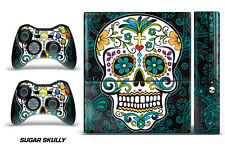 Skin Decal Wrap for Xbox 360 E Gaming Console & Controller Sticker Design SKULLY