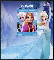 Mali 2018 MNH Frozen Elsa 1v M/S Disney Cartoons Animation Stamps
