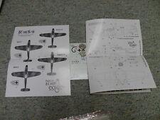 EagleCals  decals 1/72 EC#15 72-15 BF 109K-4s    F126
