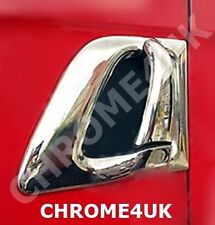 S.STEEL CHROME DOOR HANDLE COVER TRIM SET FITS  SCANIA R-P-G- NEW STREAMLINE