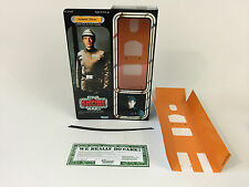 "custom Star wars esb 12"" imperial officer / commander box + inserts"