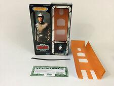 "custom Star wars esb 12"" imperial officer / commander box + inserts"