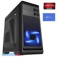 AMD A10 9700 Quad Core 8GB 1TB Desktop PC Computer Windows 10 dp15