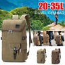 35L Canvas Outdoor Rucksack Camping Hiking Traveling Backpack Portable Bags