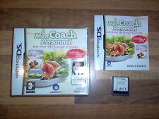 Jeu Nintendo DS - Mon Coach Personnel - Mes Recettes Plaisir et Ligne 2009 Rare
