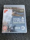 PLAYSTION 3 PS3 GAME MEDAL OF HONOR LIMITED EDITION