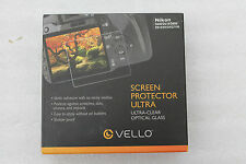 NEU! OVP! Vello LCD Displayschutzfolie Ultra Nikon D600/610/800/810/Df/D4/D7100