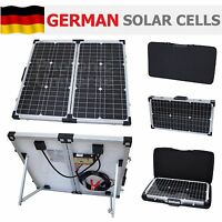 60W folding solar charging kit for 12V leisure battery motorhome camper caravan