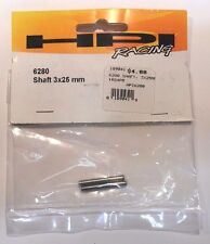HPI Racing #6280 Shaft 3x25mm NEW RS4 RC Part