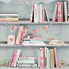 Curious Estanterías papel Pintado-694000 Arthouse-libros Estantería