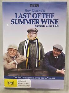 BBC TV LAST OF THE SUMMER WINE series 5 & 6 3 disc dvd PAL reg 4 PG comedy