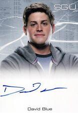 Stargate Universe Season 2 David Blue as Eli Wallace Auto Card