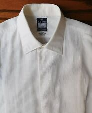 Vintage After Six Swiss shirt size 15.5 Terylene Cotton mens 1960s evening dress