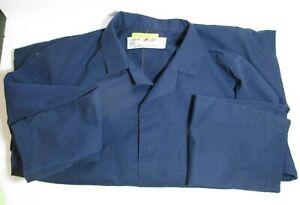 Red Kap Image Plus Men's Navy Blue Smock Lab Coat Jacket 42 RG