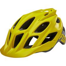 Fox Head Cycling Unisex Adult Flux Creo Helmet [Dark Yellow] Size L/Xl
