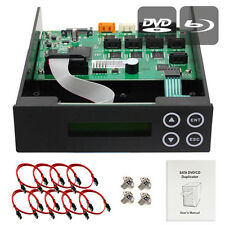 1-2-3-4-5-6-7 CD DVD Blu-ray SATA Burner Duplicator Copier CONTROLLER